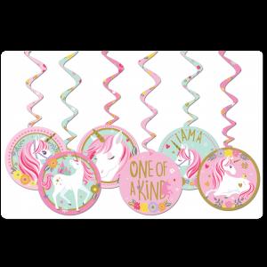 Unicornio – Espirales Decorativos