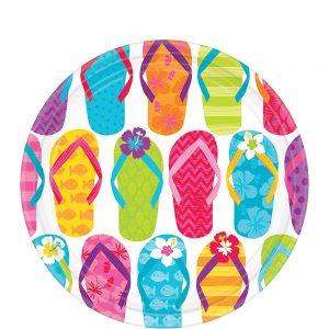 Flip Flop Summer Plato Postre