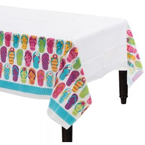 Flip Flop Summer Mantel Rectangular