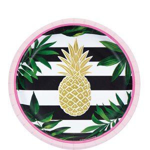 Gold Pineapple Servilleta Coctel