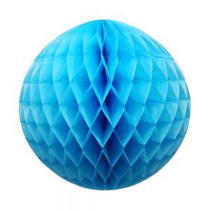 Esfera Papel Picado – Azul Cielo