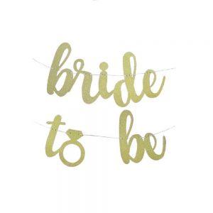 Bride to Be Banner de Letras