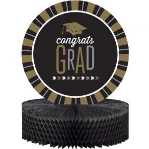 Congrats Grad Honeycomb Centerpiece