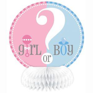 Girl or Boy Centro de Mesa