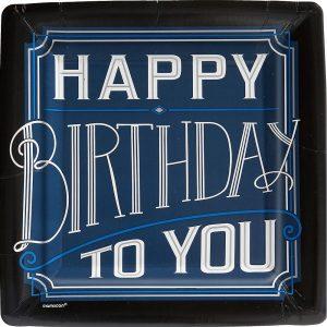 Happy Birthday Man Plato Grande