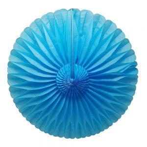 Flor Papel Picado – Azul Cielo