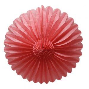 Flor Papel Picado – Coral