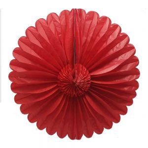 Flor Papel Picado – Rojo