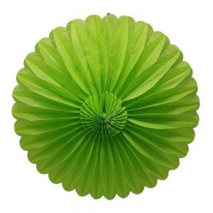 Flor Papel Picado – Verde Manzana