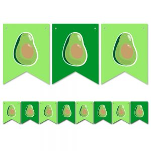 Guacamole – Pennant Banner