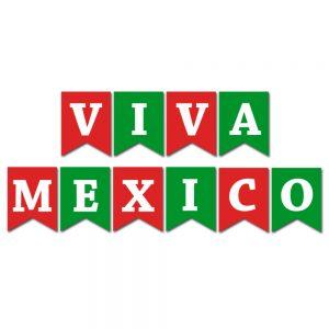Viva Mexico – Pennant Banner