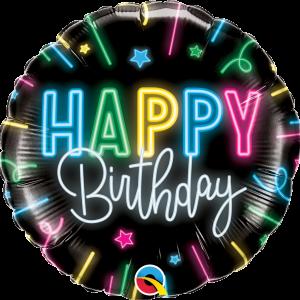 Globo Birthday Bright Neon