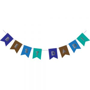 Father's Day Banner – Best Dad Pennant