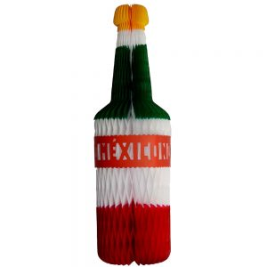 Botella Artesanal Tricolor Mediana