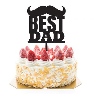 Cake Topper – Father's Day Best Dad