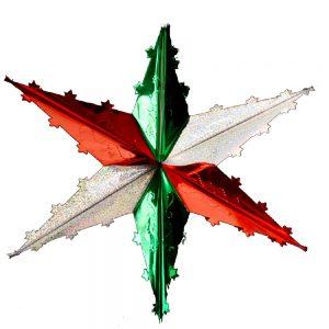 Estrella Sencilla Tricolor S