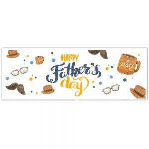 Father's Day Banner – #1 Dad