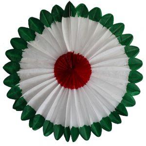 Flor Artesanal Tricolor
