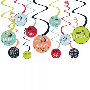 Reason to Celebrate Espirales Decorativos