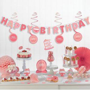 Shades of Pink Kit Decorativo