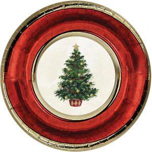 Classic Christmas Tree Plato Grande