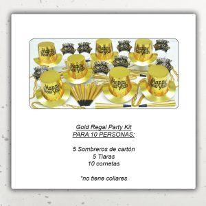 Año Nuevo Kit – Gold Regal
