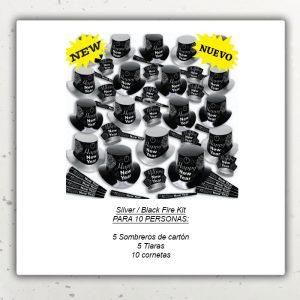 Año Nuevo Kit – Silver Black Fire