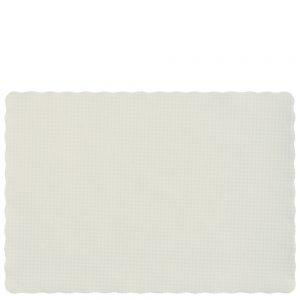 Mantel Individual Blanco – 10 pz
