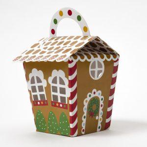 Caja Navideña – Gingerbread House