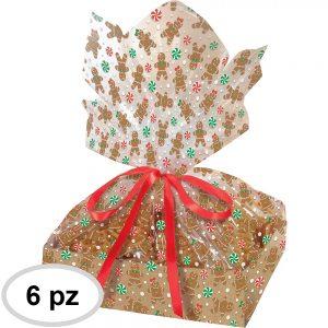 Bolsas Navideñas – Gingerbread