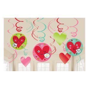 Heart Face – Espirales Decorativos