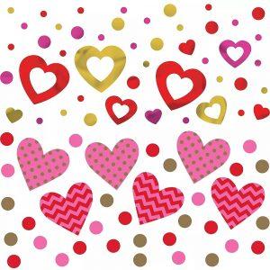 Hugs Kisses Heart – Confetti