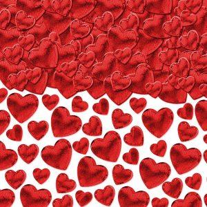 Red Heart – Confetti