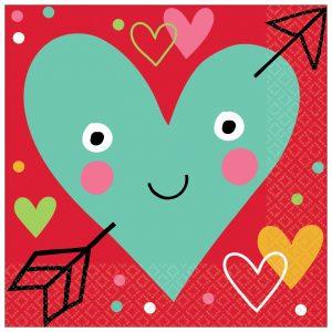 I Heart Face You – Servilleta Coctel