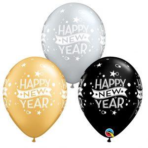 Globos Latex Happy New Year